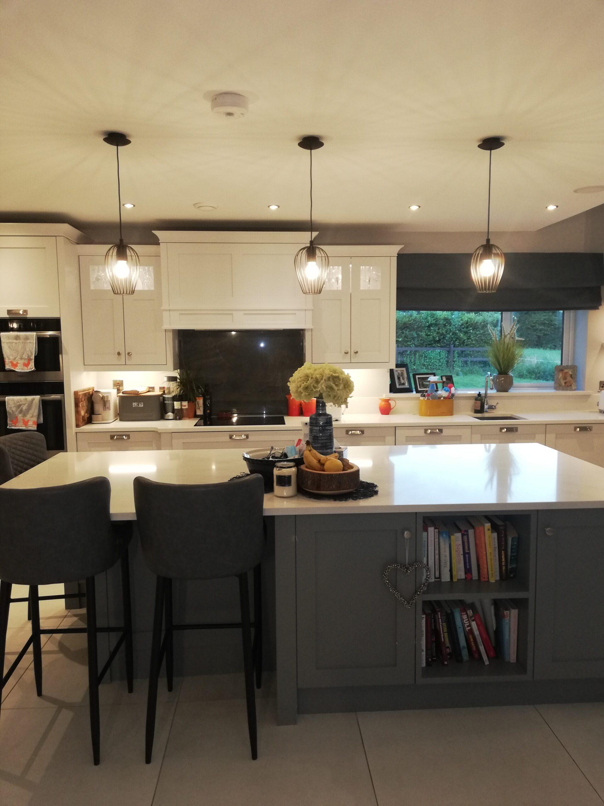 Kitchen Lighting Design New Build Home West Cork